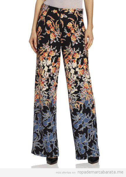 Pantalones anchos marca BCBG Maxazria barato, outlet online