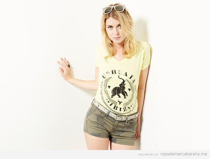 Camiseta marca Ushuaia Ibiza barata, outlet online