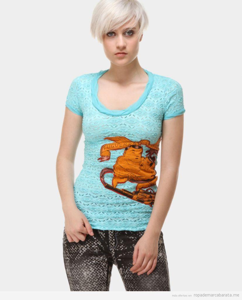 Camisetas marca Custo Barcelona baratas, outlet online 2