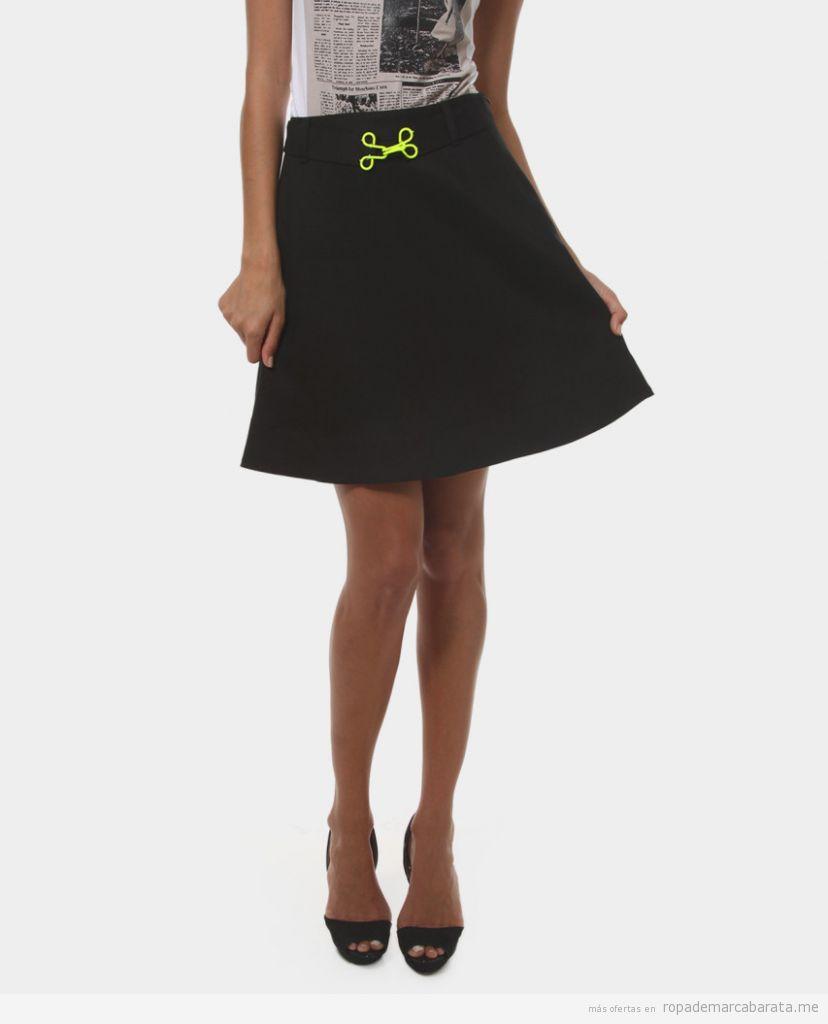 Faldas marca Love Moschino baratas, outlet online 2