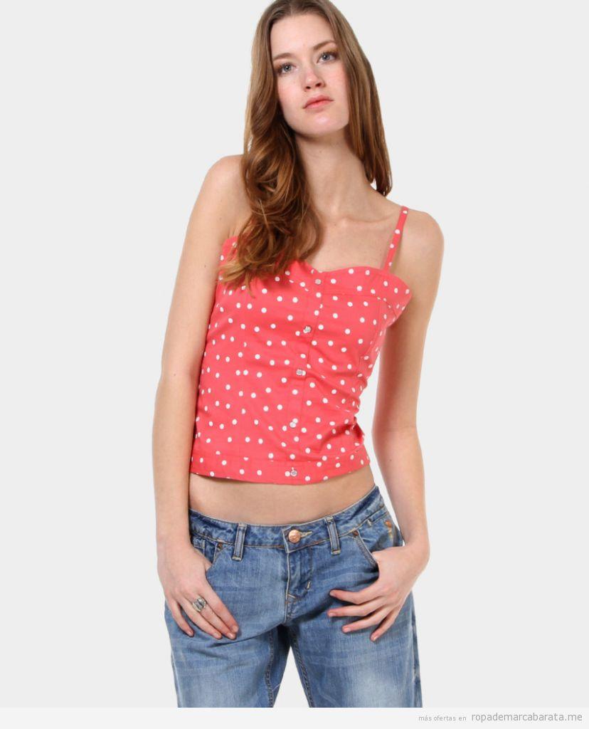 cef0c49584 Tops y pantalones vaqueros marca New Caro baratos outlet online