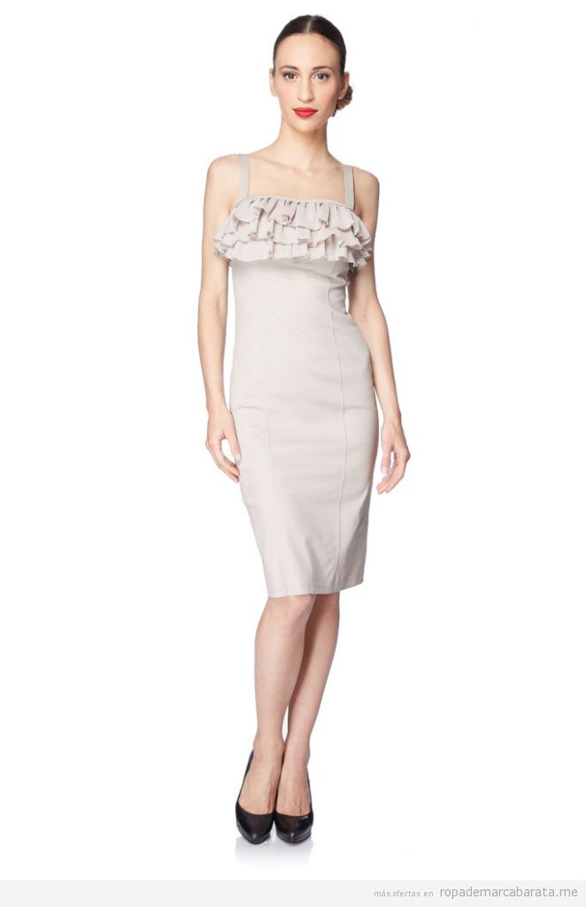 Vestidos elegantes marca Diego Reiga, outlet online