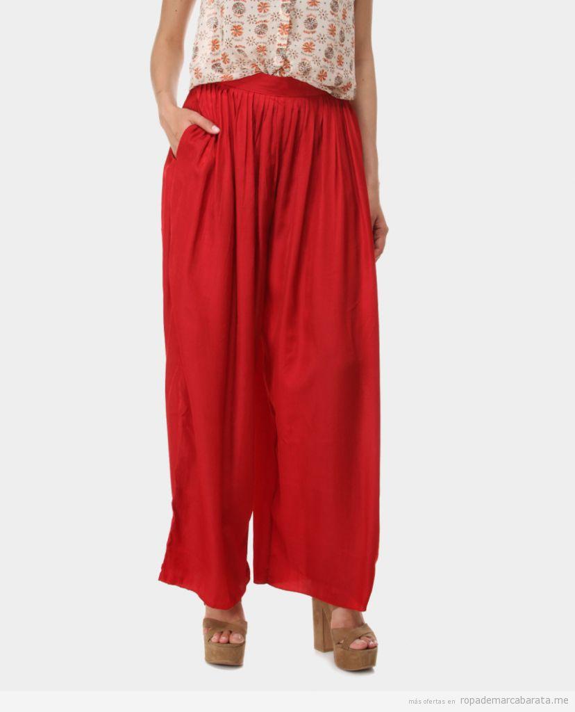 Pantalón ancho verano marca Ada Gatti barata¡o, outlet online