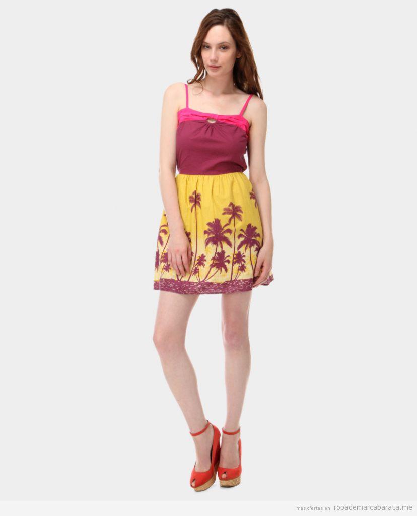 Vestidos verano marca Cache Cache, outlet online