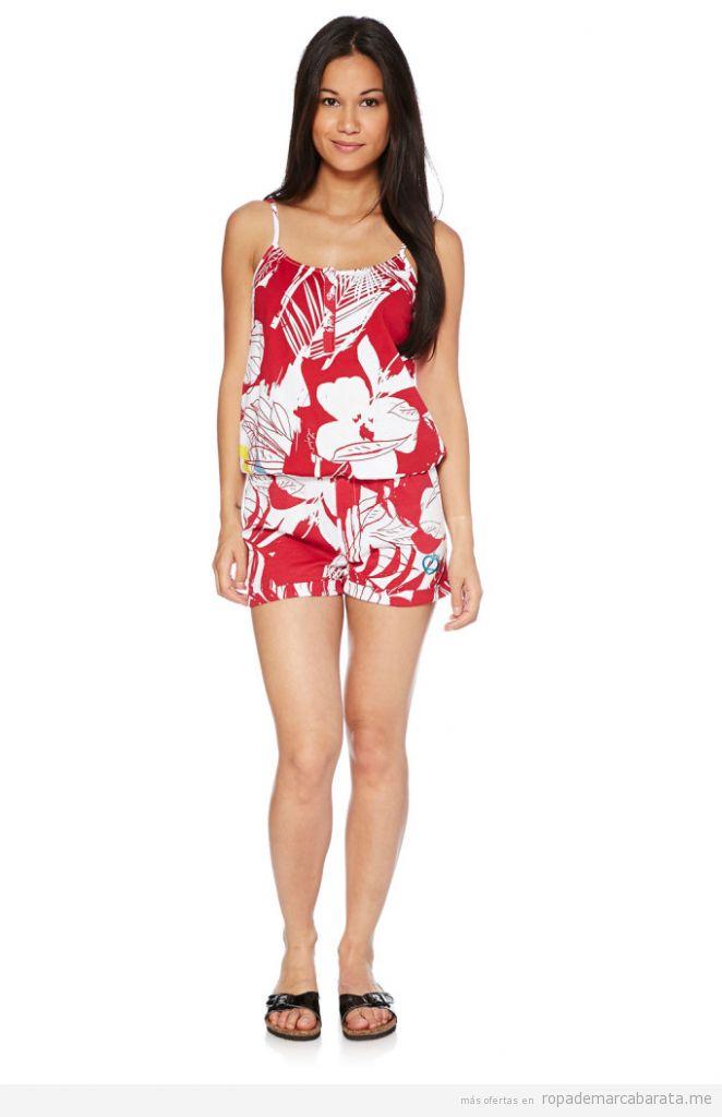 Mono short estampado hawaiano marca Longboard barato. outlet online