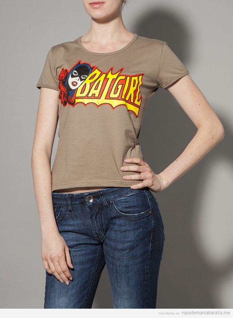 Camiseta Batgirl barata, outlet online