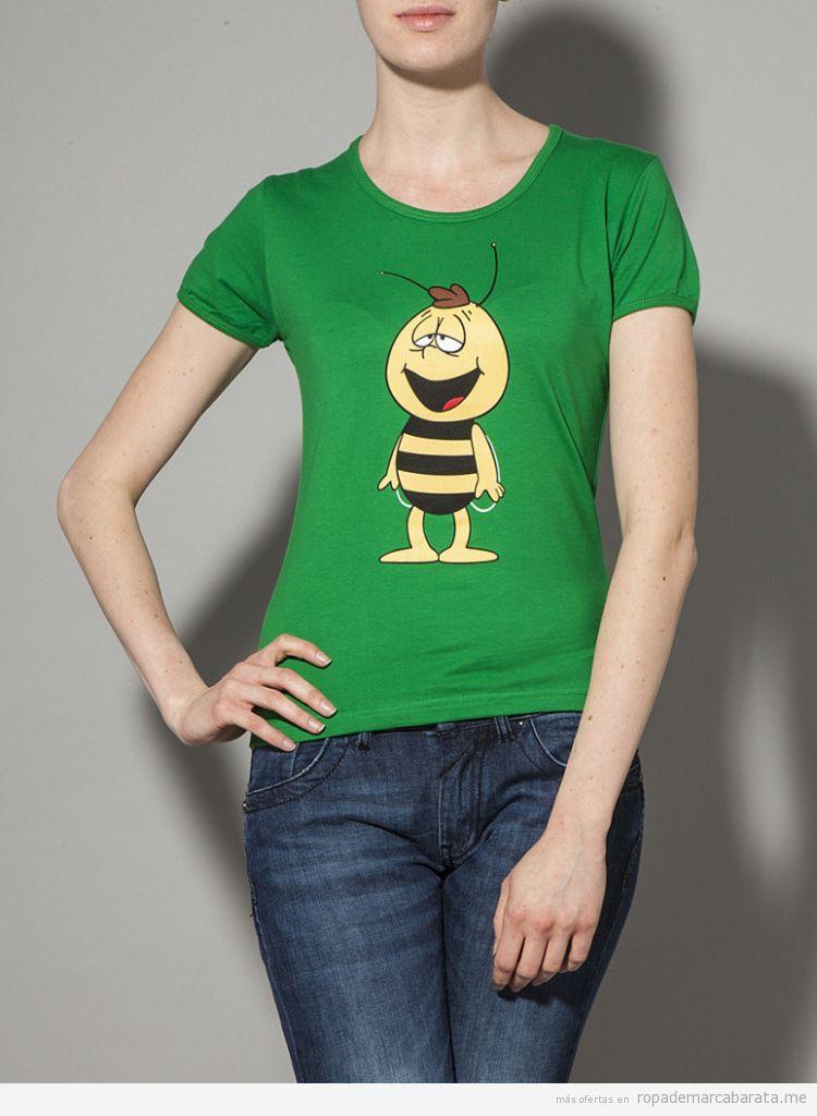 Camiseta Willie Abeja Maya barata