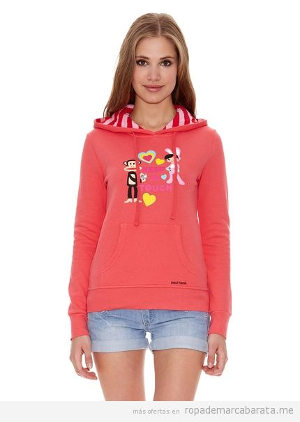 Sudadera marca Paul Frank barata para chica, outlet online