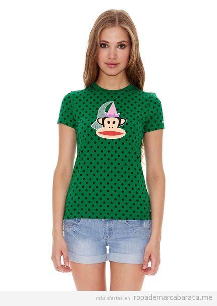 Camiseta marca Paul Frank barata para chica, outlet online