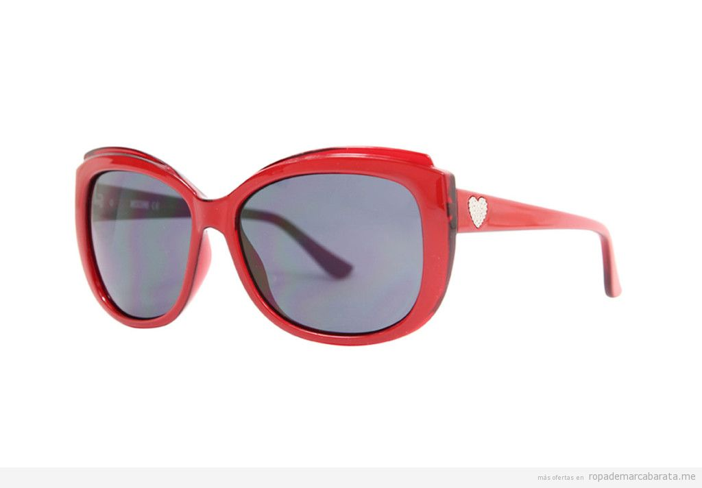 Gafas sol marca Moschino baratas, outlet online
