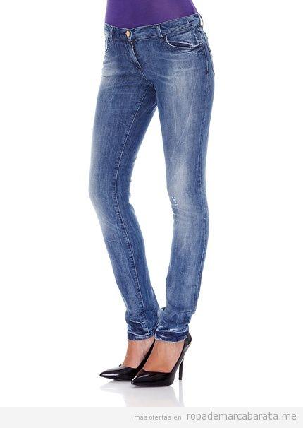 Pantalones tejanos marca Versace baratos, outlet online 2