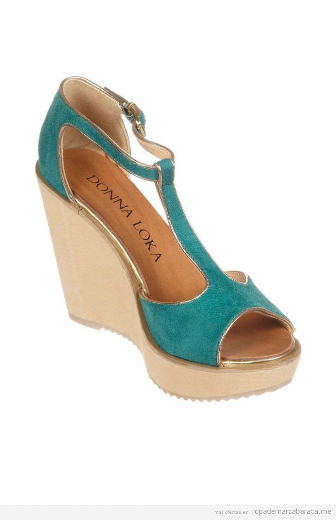 Outlet online sandalias marca Donna Loka3