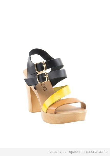 Sandalias madera marca Liberitae baratas, outlet online