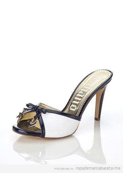 Sandalias marca Galliano baratas, outlet online