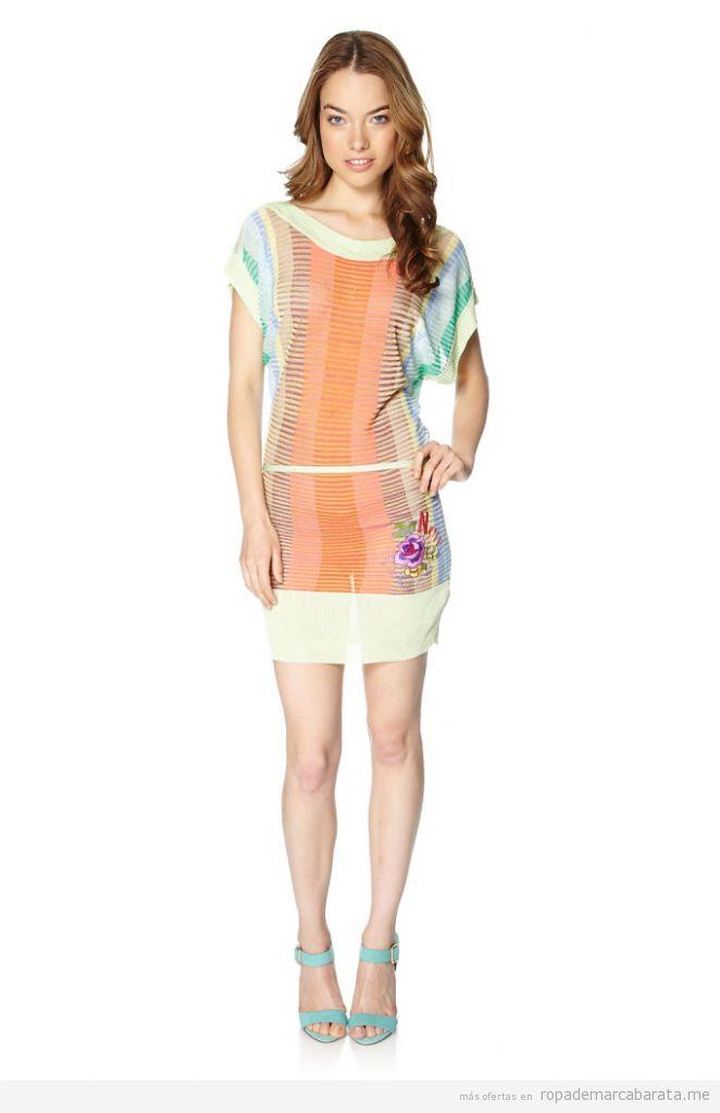 Vestidos marca Desigual verano baratos, outlet online