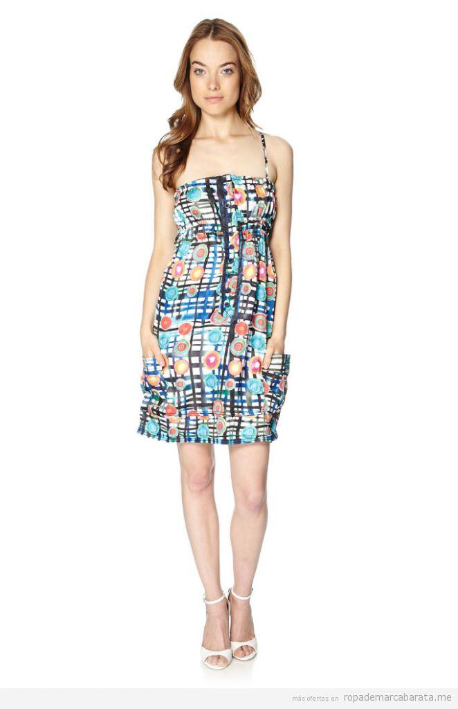 Vestidos marca Desigual verano baratos, outlet online 3