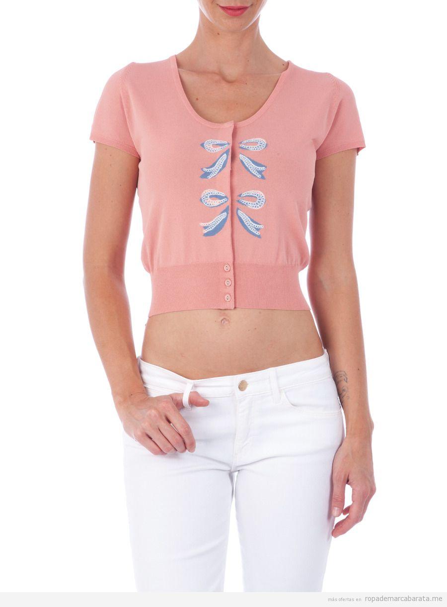 Rebeca o chaqueta marca Love Moschino barata, outlet online