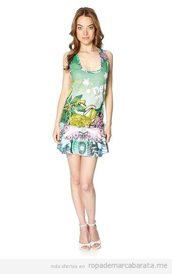 Vestido  mujer marca Desigual barato, outlet online