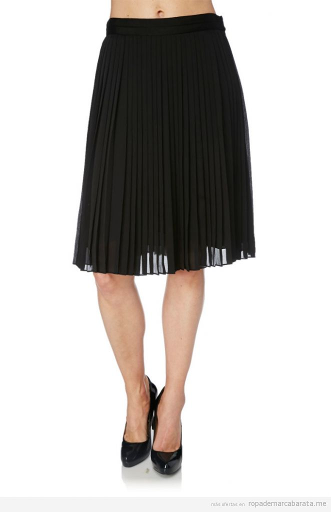 Falda plisada Sandalias marca Manoukian barata, outlet online