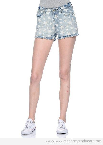 Shorts estrella marca Yes Miss baratos, outlet online