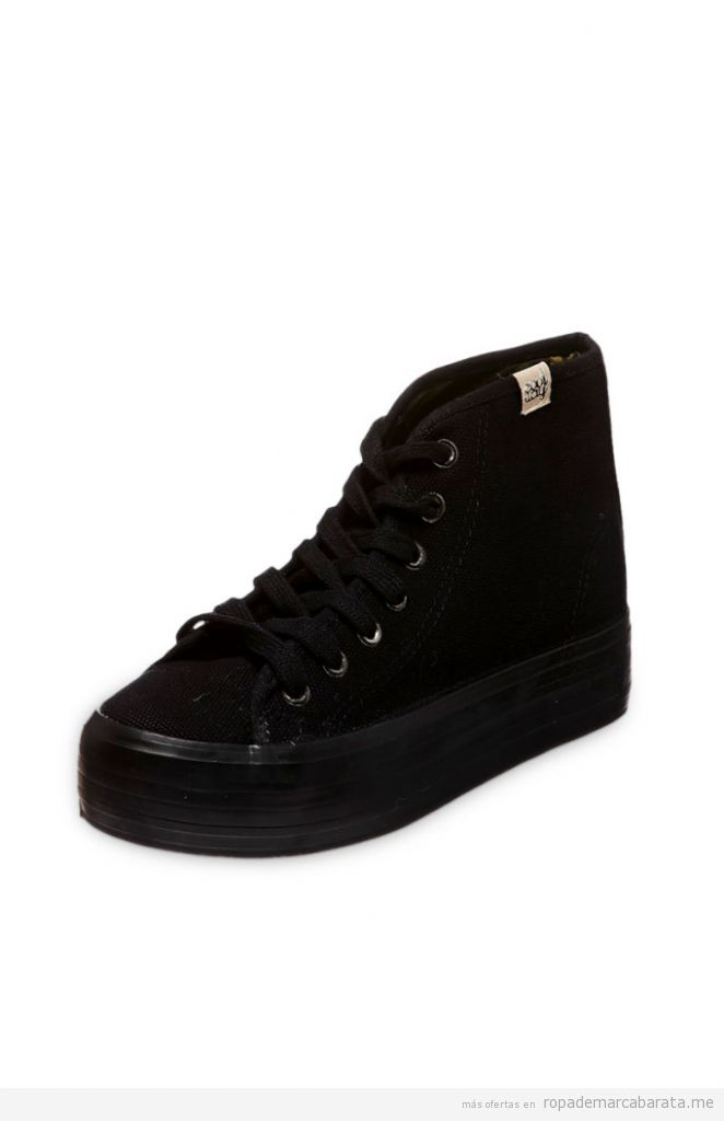Zapatillas caña alta plataforma marca coolway baratas, outlet online