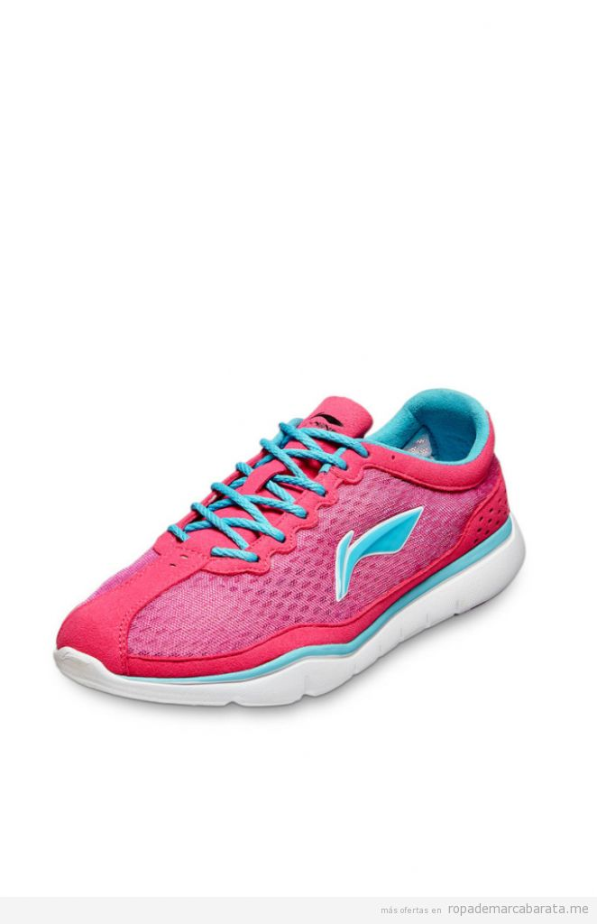 Zapatillas running mujer marca Li-ning baratas, outlet online 3
