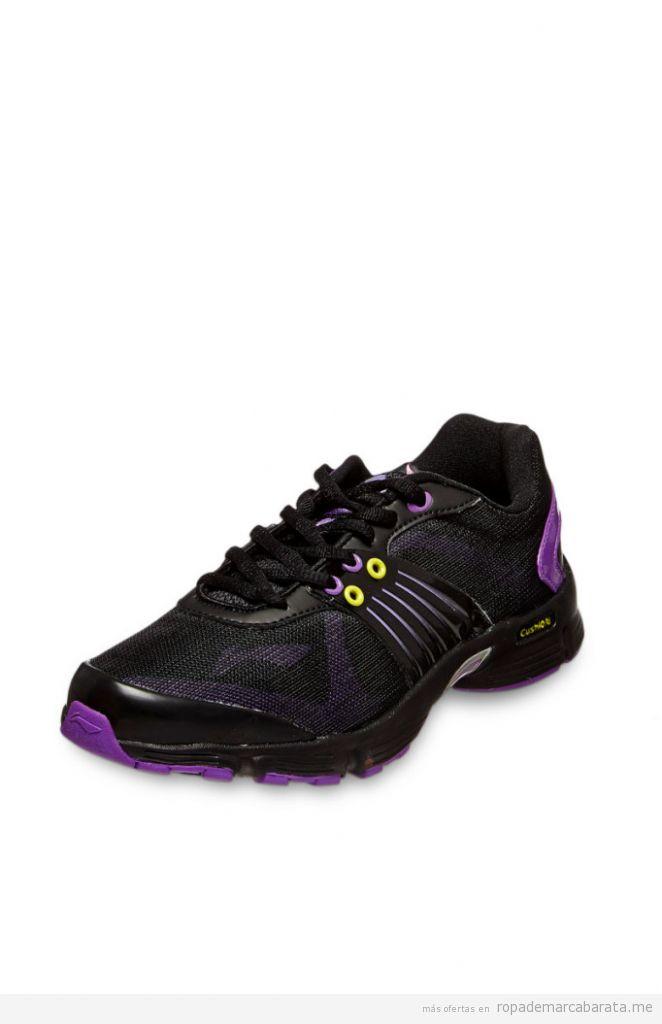 Zapatillas running mujer marca Li-ning baratas, outlet online