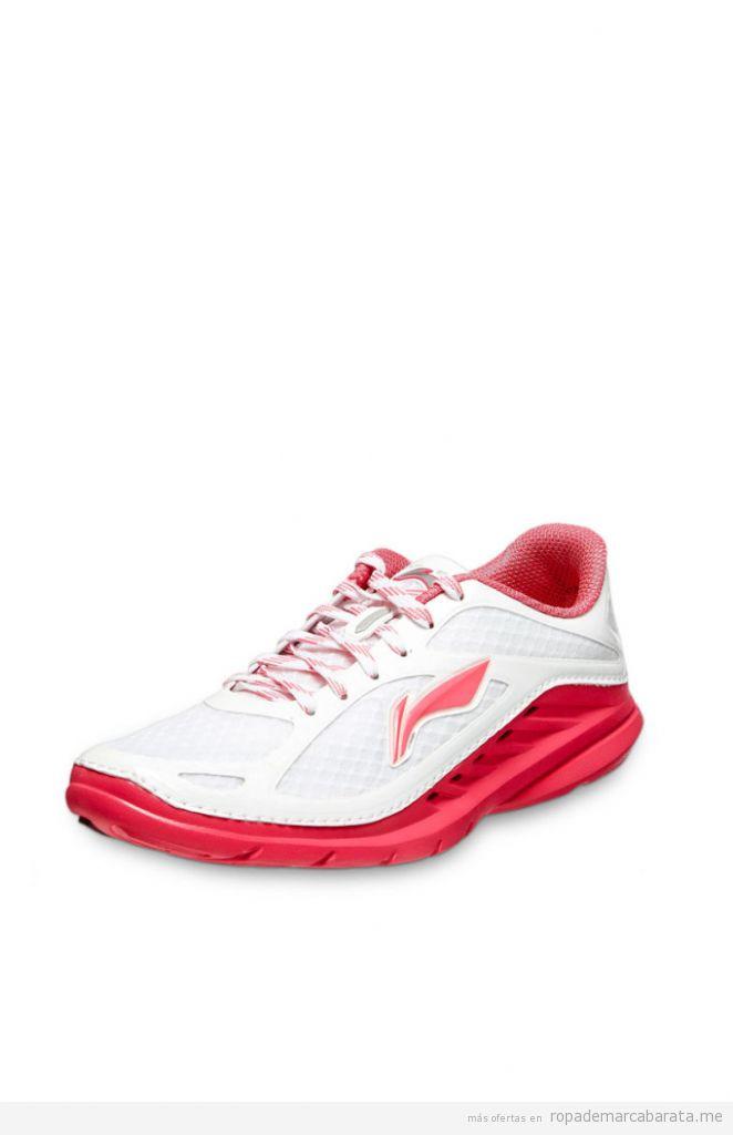 Zapatillas running mujer marca Li-ning baratas, outlet online 2