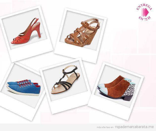 Zapatos y sandalias de distintas marcas muy rebajados, outlet online