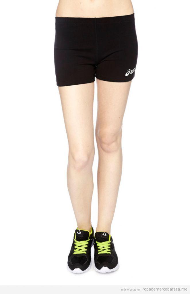Pantalones deporte mujer marca Asics baratos, outlet online