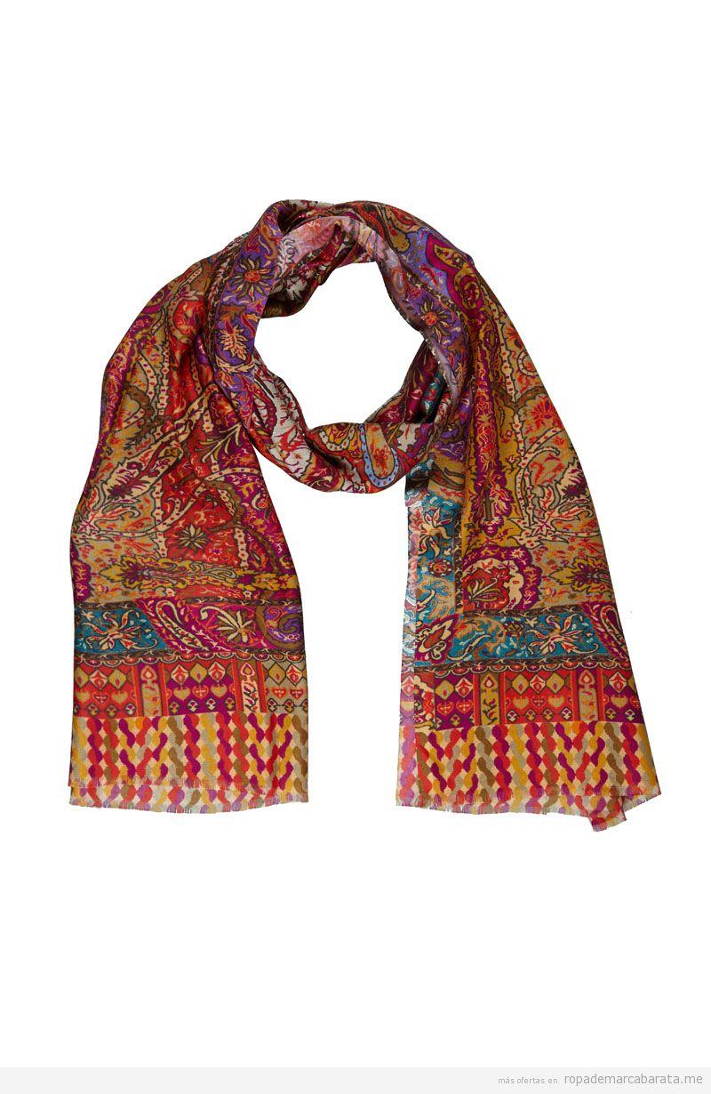 Fular, estolas y bufandas de seda, cachemir y lana marca Kashmir ... 459946d0cfe