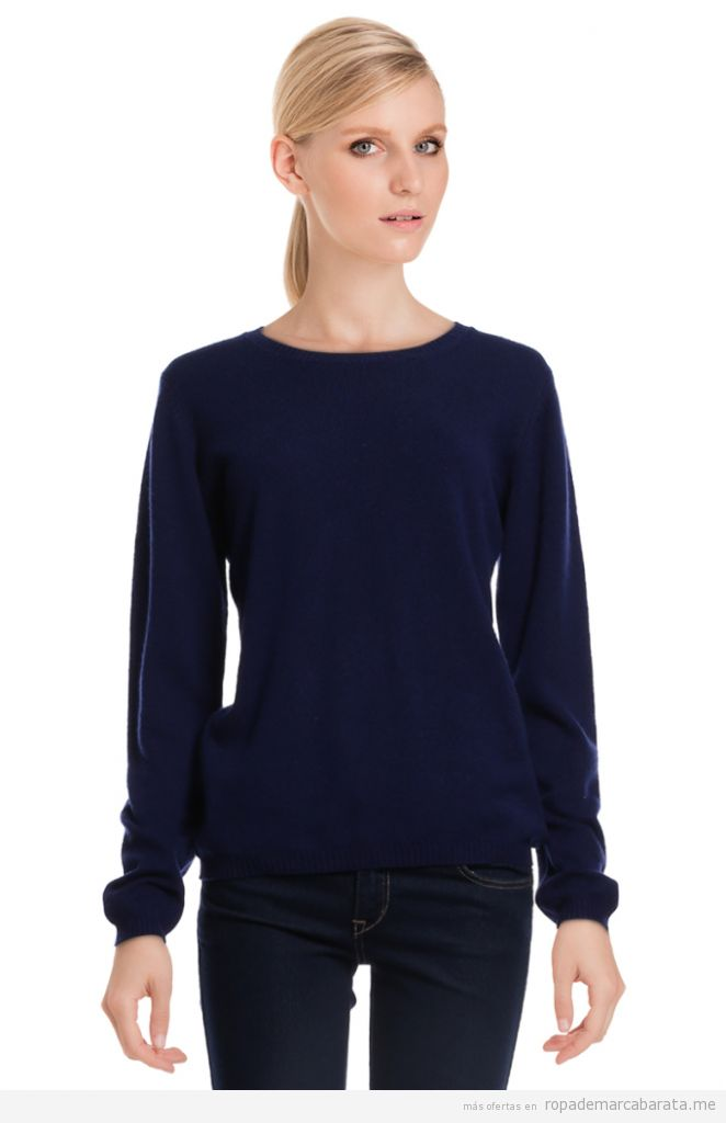 Jersey mujer cachemir barato, outlet online