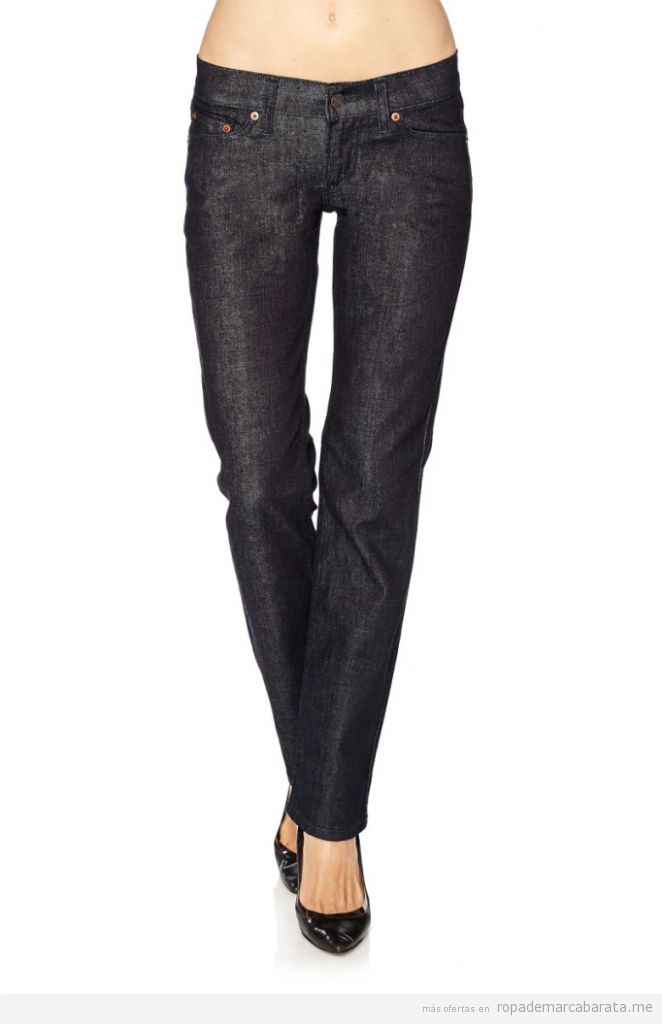 Pantalones vaquero mujer marca Levi's baratos, outlet online