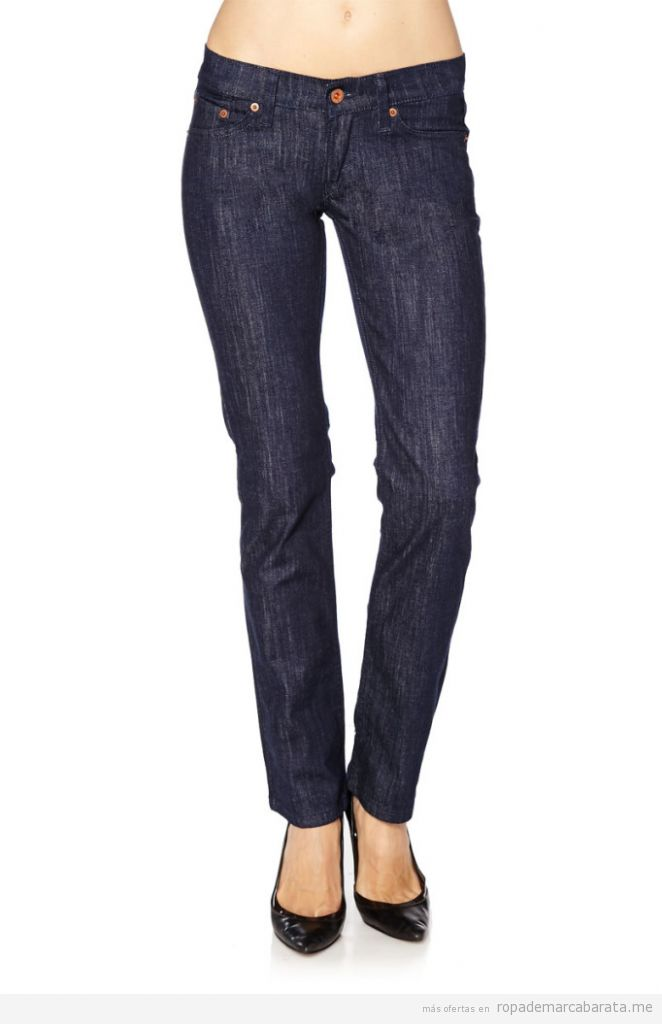 Pantalones vaquero mujer marca Levi's baratos, outlet online 2