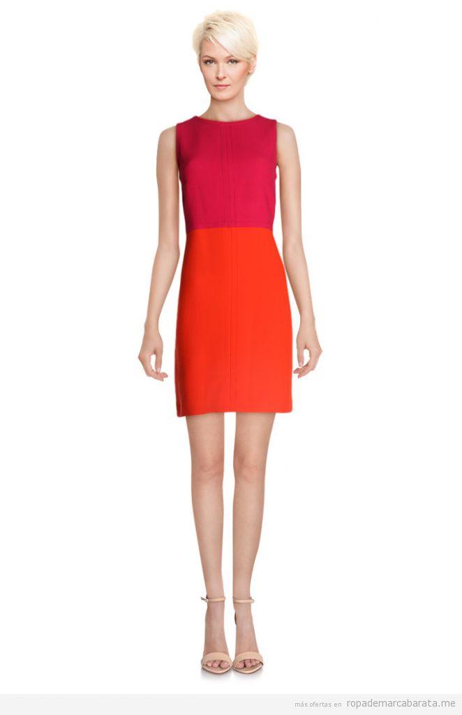 Vestido lana marca Devernois barato, outlet online