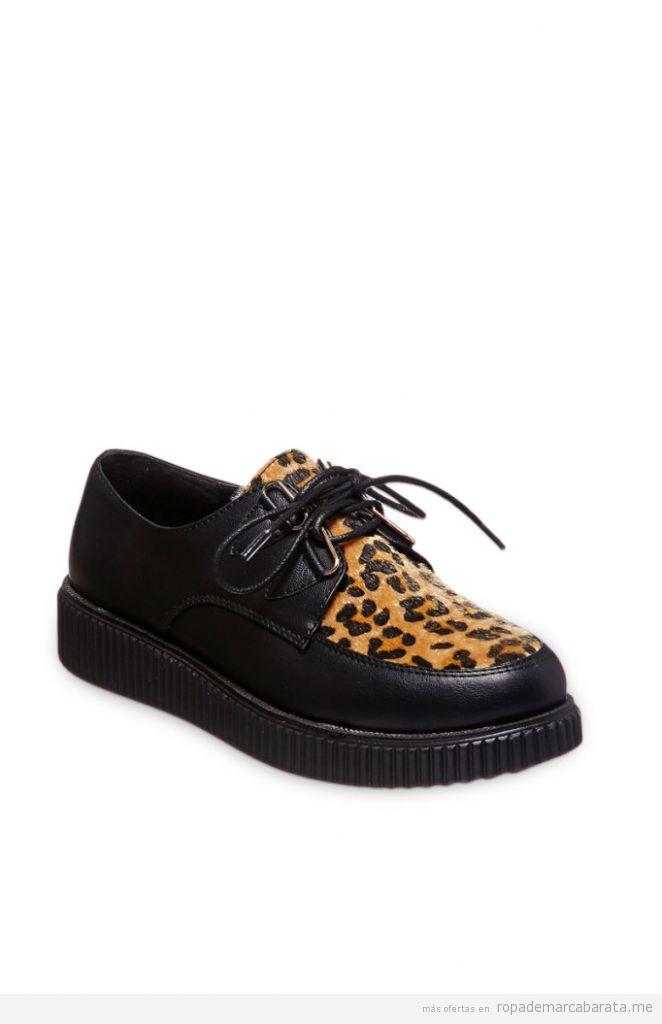 Zapatos creepers de plataforma baratos, outlet online