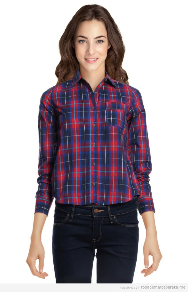 Camisas mujer marca New Caro baratas, outlet online