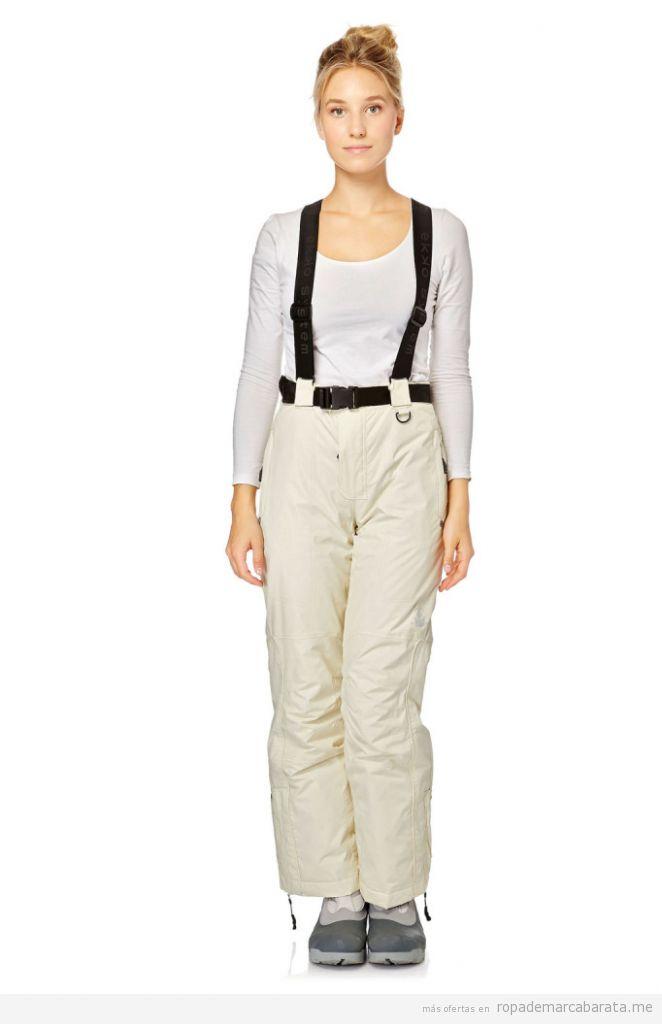 Mono pantalón tirantes de esquí para mujer distintas marcas, outlet