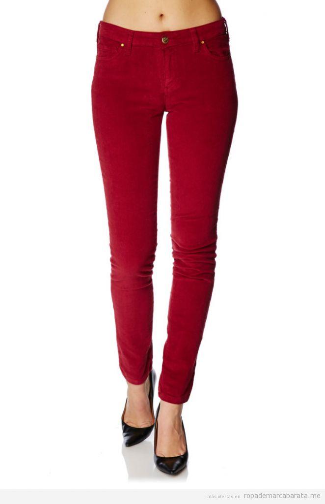 Pantalones vaqueros mujer marca Oranjeans barato 2