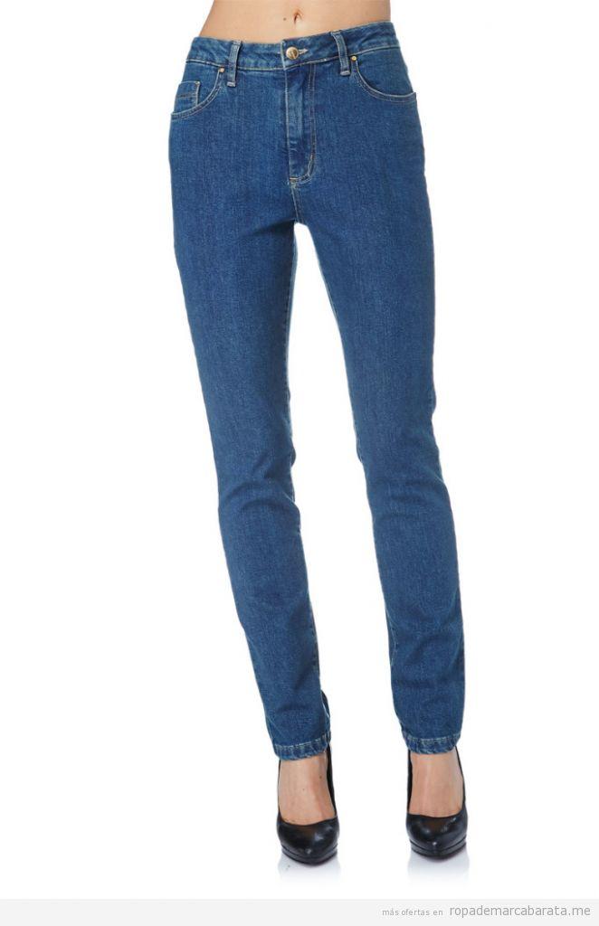 Pantalones vaqueros mujer marca Oranjeans baratos 3