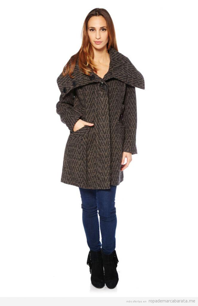 Abrigo mujer de marca baratos, outlet online