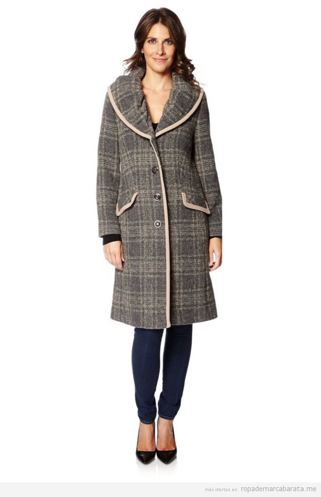 Abrigos mujer lana baratos marca Weinberg, outlet 2