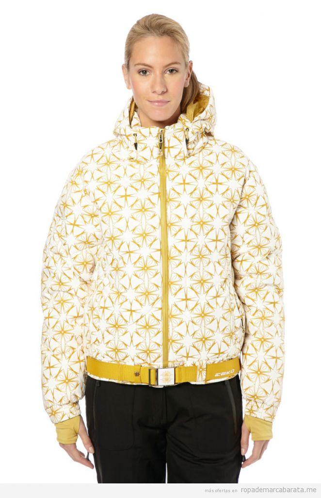 Chaqueta esquí de mujer barata y de marca, outlet online 2