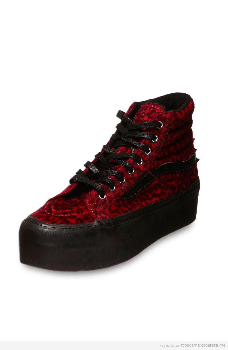 zapatillas vans mujer baratas