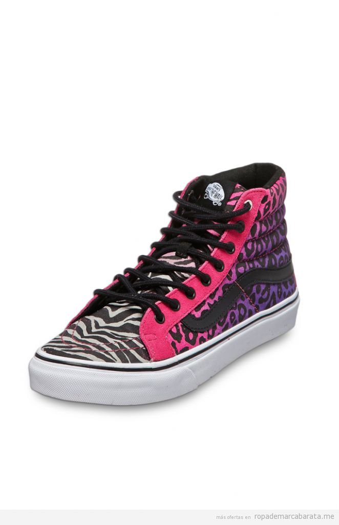 Tenis marca Vans mujer baratos, outlet