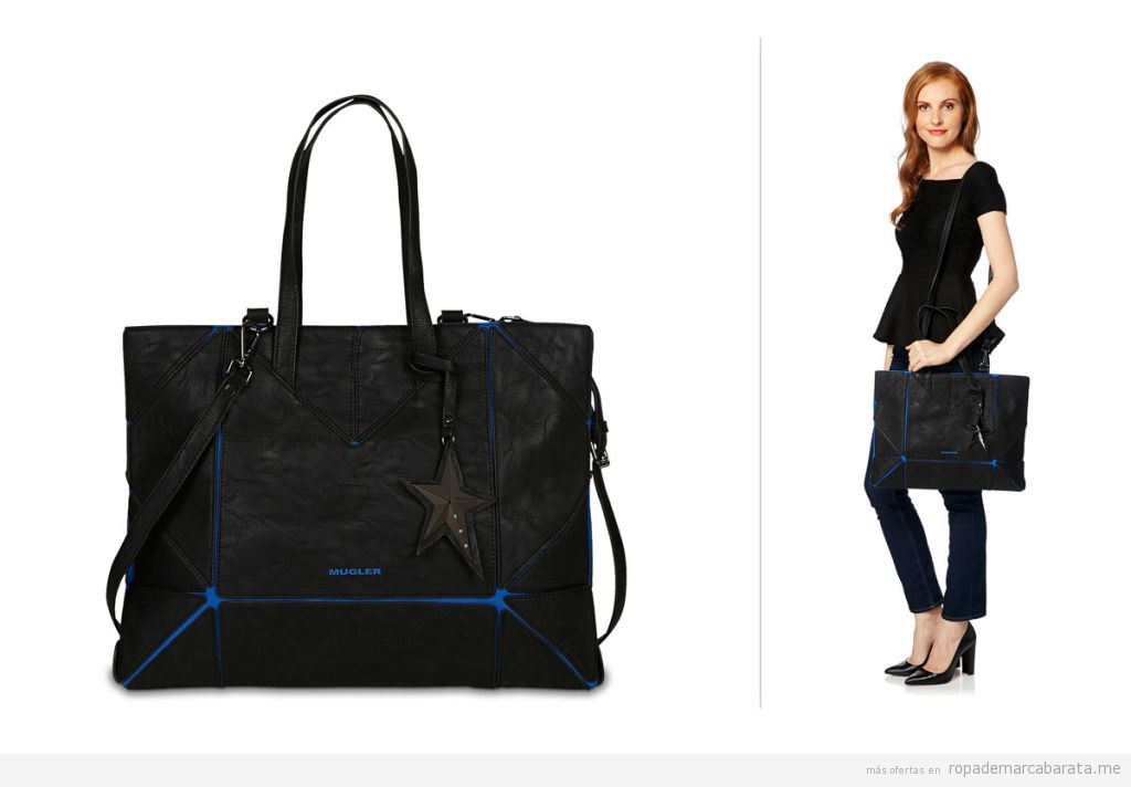 Bolso marca Thierry Mugler barato, outlet online 2