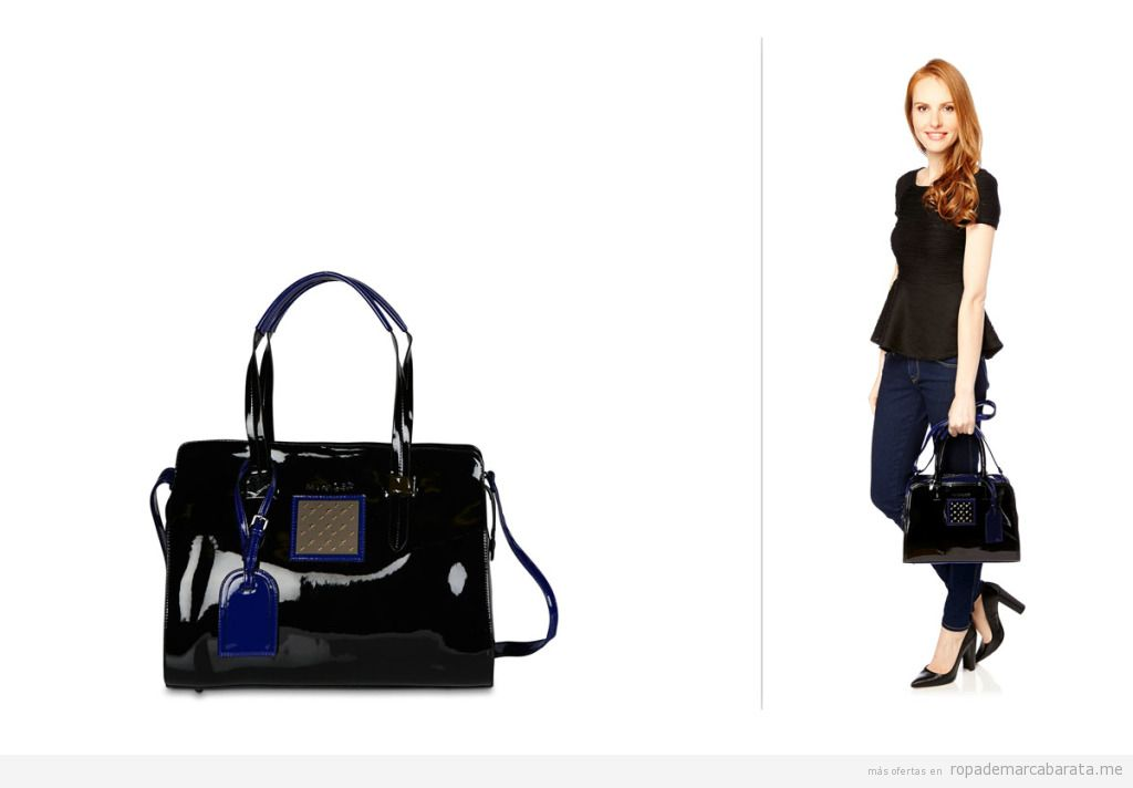 Bolsos mujer marca Thierry Mugler, baratos, outlet online