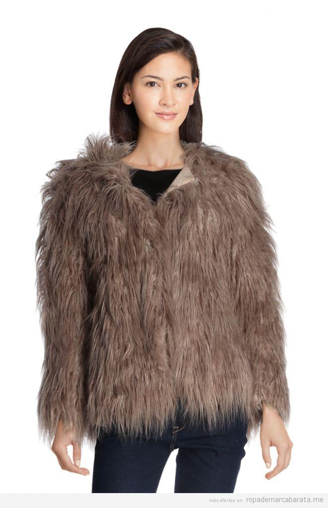 Chaquetas y abrigos de piel sintética baratos, outlet 2
