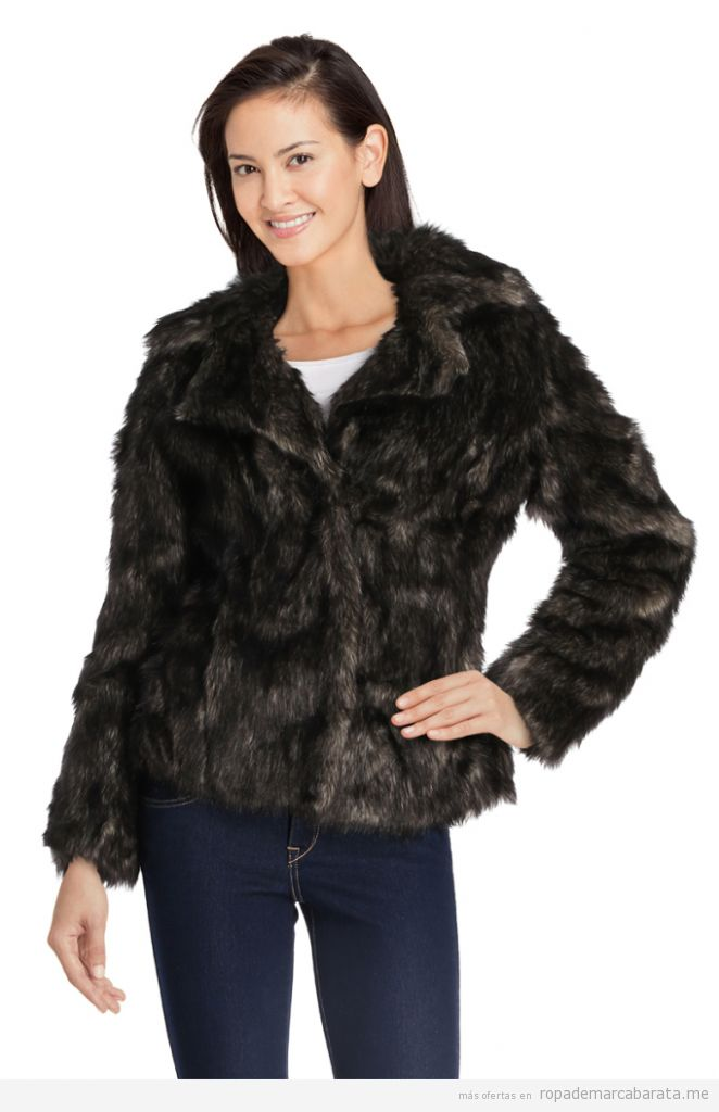 Chaquetas y abrigos de piel sintética baratos, outlet 3
