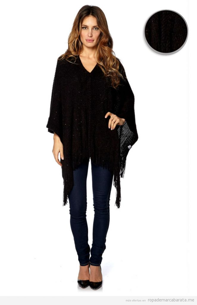Ponchos de mujer marca French Code baratos, outlet online